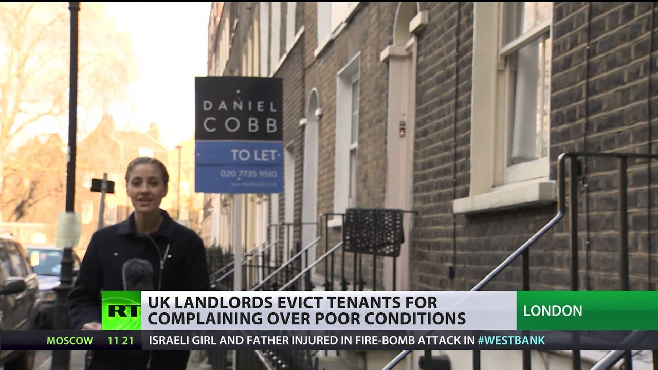 Angry landlord take revenge for rent not paid
