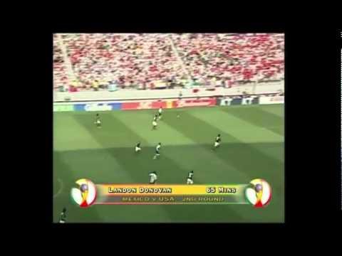 Mexico - USA 0-2 [FIFA World Cup 2002 Highlights]