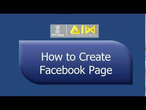 How to Create a Facebook Page - Step by Step Instructions