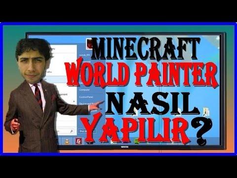 Minecraft World Painter Kullanımı