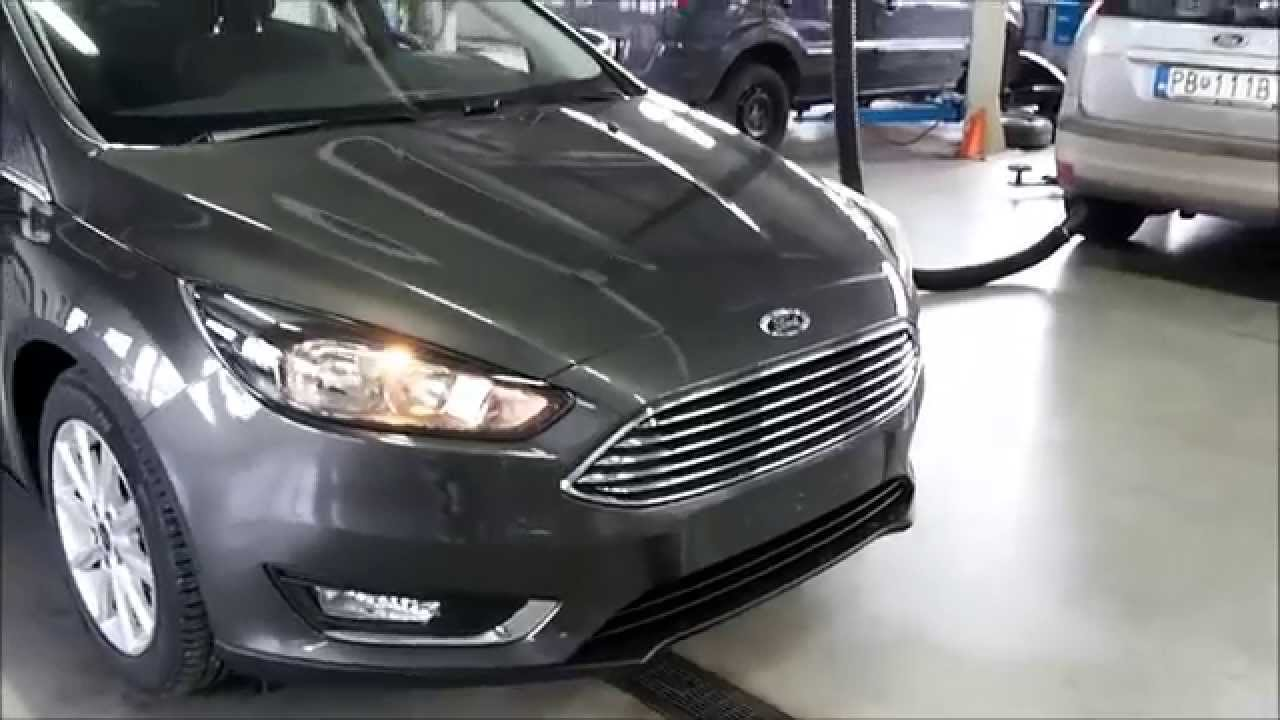 Ford Focus 2015 Magnetic Gray Youtube