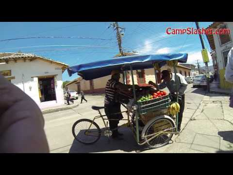On the Street in San Cristobal de las Casas, Mexico and my Aparment