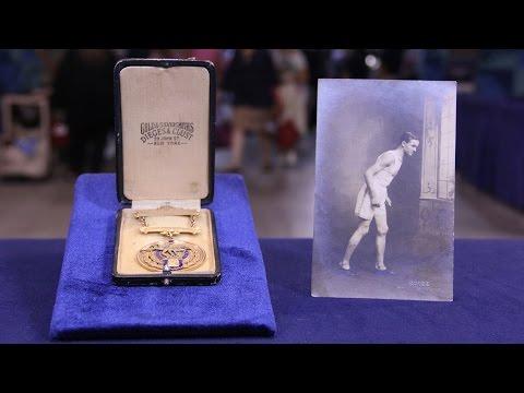 Web Appraisal: 1921 Boston Marathon Medal