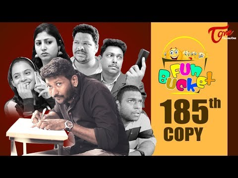 Fun Bucket | 185th Episode | Funny Videos | Telugu Comedy Web Series | Harsha Annavarapu | TeluguOne