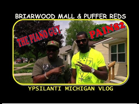 BRIARWOOD MALL AND PUFFER REDS VLOG WITH PAIN82
