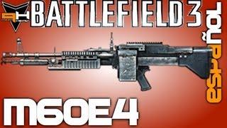 M60E4 Reseña Battlefield 3 [ Español ] ( PizzaHead ) Guía de Armas Battlefield 3 Gameplay