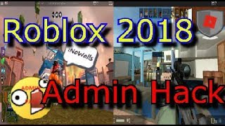 Admin Hack For All Game ! (Jailbreak,Booga Booga,CBRO,..) - Destroy Walls, Resize items... ! - Roblox