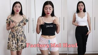 Cute at Sexy na Damit! FactoryMal Try-On Haul