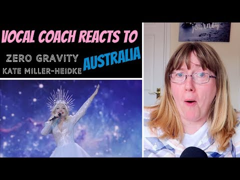 Vocal Coach Reacts to Kate Miller-Heidke 'Zero Gravity' Eurovision Final 2019