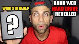 I got a HARD DRIVE in my MYSTERY BOX off the DARK WEB! Found BITCOIN a DARK WEB HARD DRIVE? | ALI H