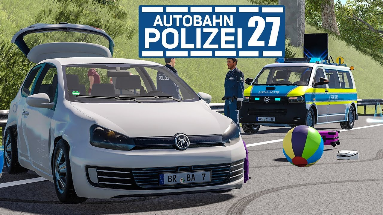 Unfall vor dem Urlaub! AUTOBAHNPOLIZEI-SIMULATOR 2 #27 | Autobahn ...