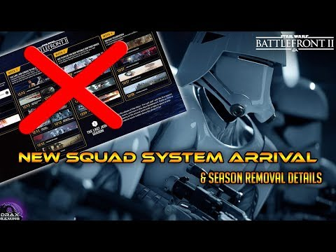 Squad System Delayed? Seasons Gone? - Star Wars Battlefront 2 thumbnail