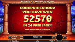 BIG WIN On Hercules Son of Zeus Slot Machine