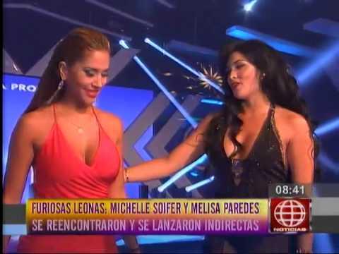 Melissa Paredes a Michelle: 'Yo no soy Jazmín Pinedo'