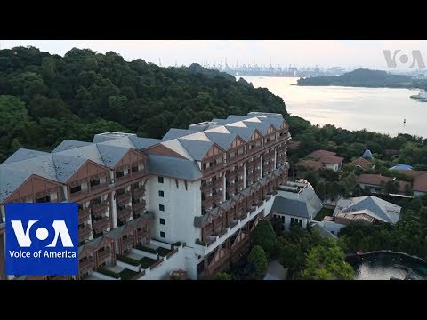 Secluded resort chosen for Trump-Kim summit in Singapore