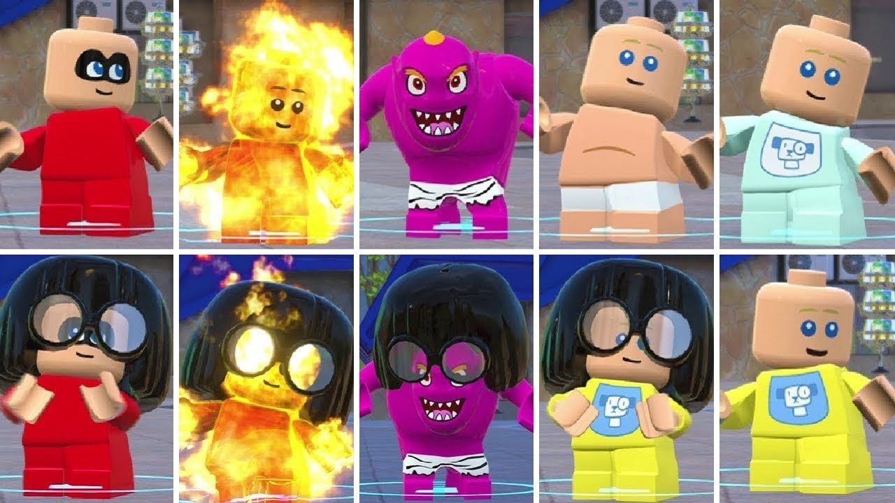 All Jack-Jack Costumes u0026 Transformations in LEGO The Incredibles & All Jack-Jack Costumes u0026 Transformations in LEGO The Incredibles ...