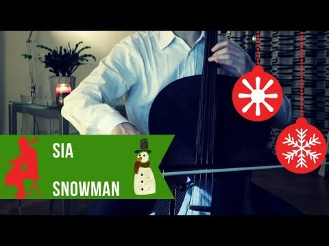 Sia - Snowman for cello and piano (COVER)
