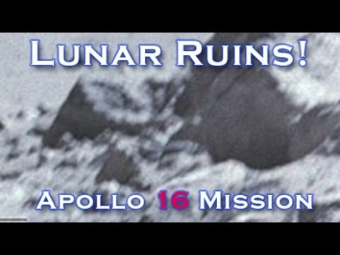 Apollo 16 Surface Photo's Show Ancient Ruins On Moon!!