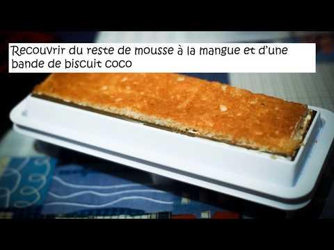 recette-de-bûche-de-noël-glacée-exotique-orange-mangue-coco---1-h-top-chrono-!