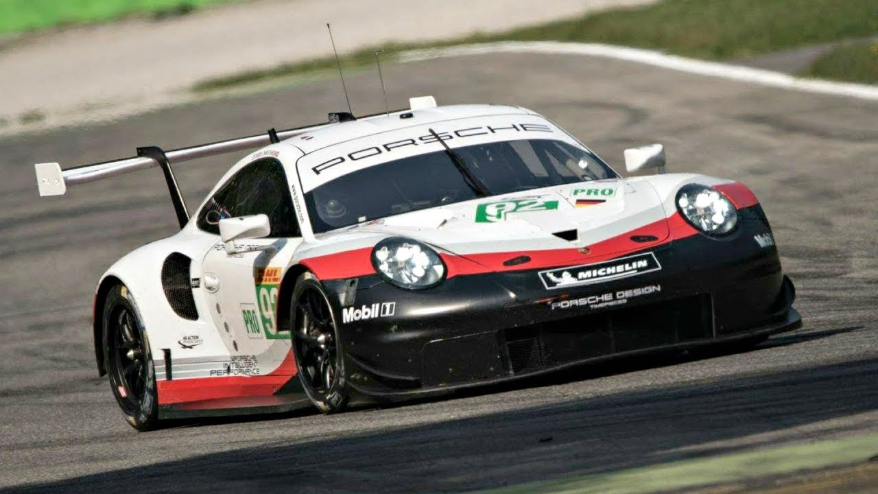 Porsche Race Cars >> Mid Engined Porsche 911 Rsr Screams At Monza With New Exhaust