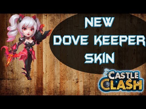 New Dove Keeper Skin Looks Awesome - Gameplay | Castle Clash