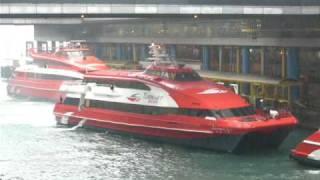 宇 航 一 號 離 開 港 澳 碼 頭 三 號 泊 位