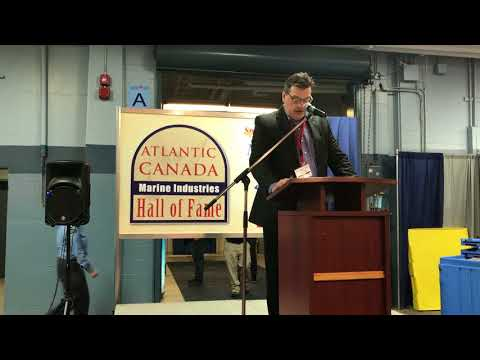 2018 Atlantic Canada Marine Industries Hall of Fame Awards -