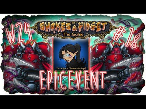 ★ Full Epic | LuckyTerra im Epicevent #18 ★ w24.sfgame.net ★ Shakes and Fidget [Deutsch] ★