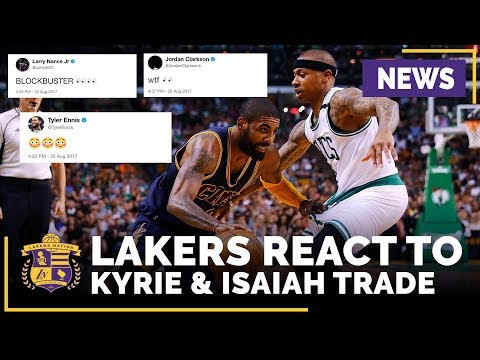 Lakers, NBA Players React To Cleveland Trading Kyrie Irving
