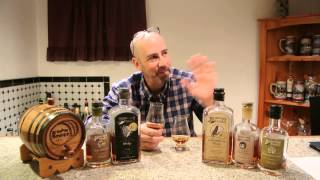 Journeyman Distillery Ravenswood Rye & Silver Cross Whiskey REVIEW! E-man Booze!