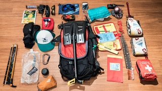 Avalanche Safety - What's in good backcountry ski/snowboard pack?