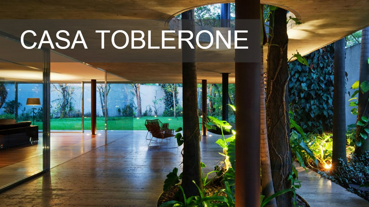 Casa Toblerone Studio Mk27 Arq3 Youtube