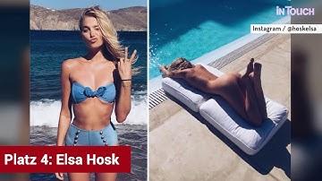 Heisse Hintern: Die TOP 10 der schönsten PROMI-POPOS der STARS!
