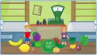 Тема овощи и фрукты | развивающие игры на дестком портале Мерсибо