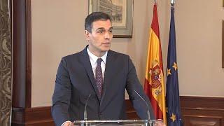 """Sánchez anuncia que el gobierno estará basado en la """"lealtad"""""""