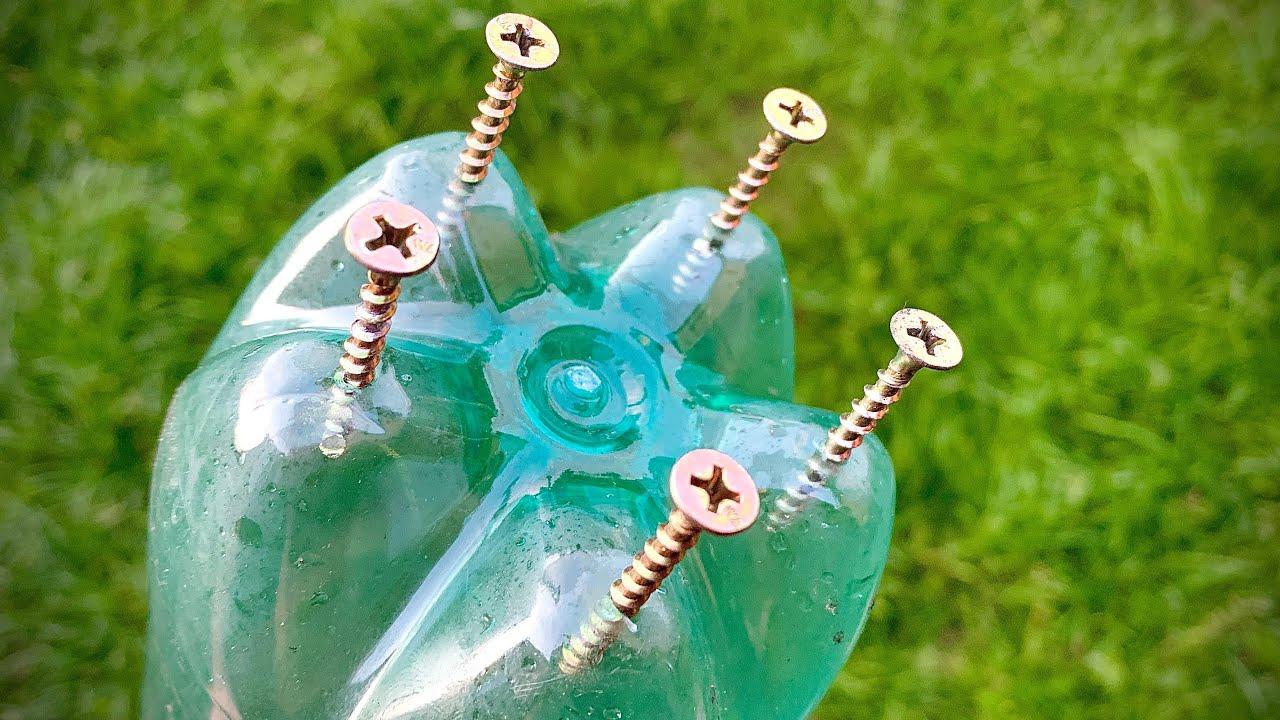 ТАКОГО ЕЩЁ НИКТО НЕ ВИДЕЛ! Теперь никогда не выброшу пластиковые бутылки!