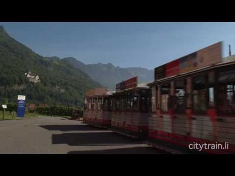 Citytrain Tours Vaduz Liechtenstein