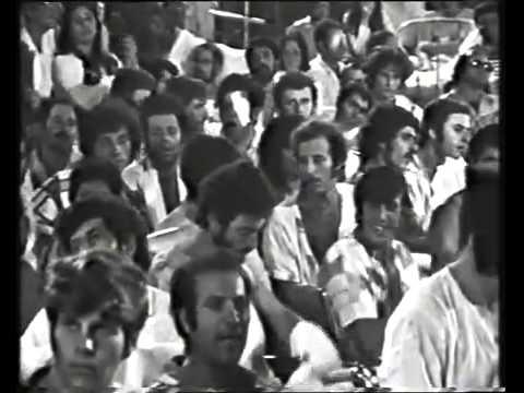 Ron Klipstein en Simon Hammelburg in Israel 1973, Hadassah Hospital   Jerusalem Israel