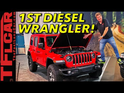 The New 2020 Jeep Wrangler EcoDiesel Gets Enough Torque To Crawl Up Everest!
