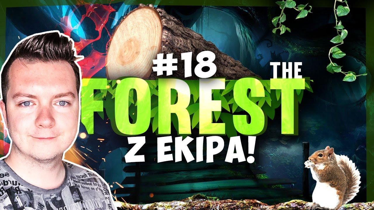 ROZBUDOWA MAGAZYNU! THE FOREST Z EKIPĄ #18   SEZON 3   Vertez, DonDrake, Swiatek, Ulaśka