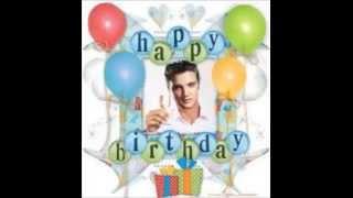 Elvis Presley Sings Happy Birthday