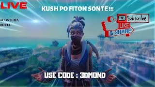 KUSH PO FITON SONTE !! FORTNITE SHQIP (USE CODE : 3DMOND) 🔴LIVE🔴