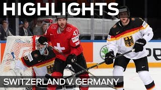 Swiss excellence eases past Germany | #IIHFWorlds 2015