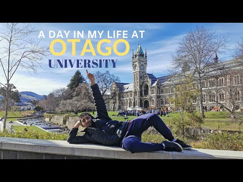 A Day In My Life At Otago University // New Zealand
