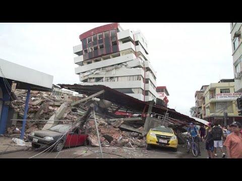 Los destrozos en Manabí, epicentro del sismo en Ecuador