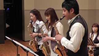 サックス八重奏 メビウス bugler s holiday トランペット吹きの休日 sax octet