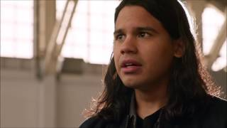 DC's Legends of Tomorrow S02E07 Cisco  Nate Vibe to the Dominators