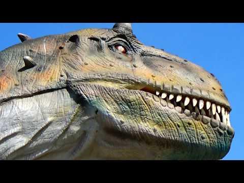 МИР ДИНОЗАВРОВ для детей Не мультик поезд динозавров, а огромные динозавры Развлечения для детей