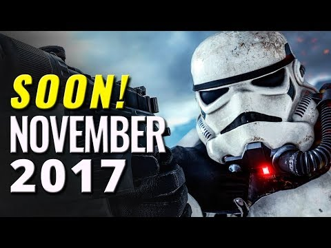 22 Upcoming Games of November 2017 | PC, Switch, PS4, Xbox One, 3DS, PS Vita