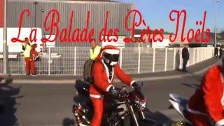 Père Noël motard. Pau. 19.12.2015. Le before !